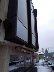 mytí oken ve výšce Praha