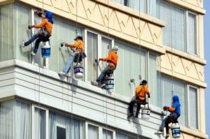 mytí oken ve výšce Ostrava