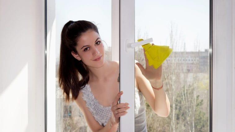 čistá okna bez jediné šmouhy