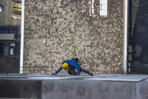 odborné výškové mytí oken