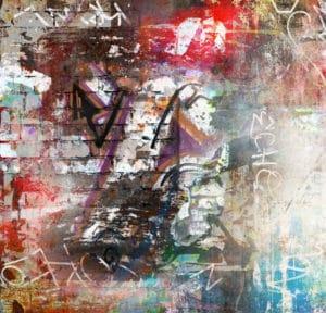 škaredé graffiti