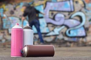 Graffiti a spreje