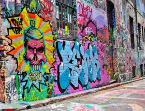 dopad graffiti na život