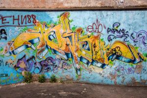 jak na odstranění graffiti