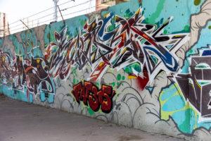 graffiti za školou