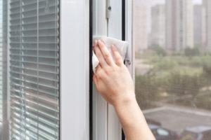 kvalitně umytá okna