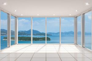 krásná čistá okna
