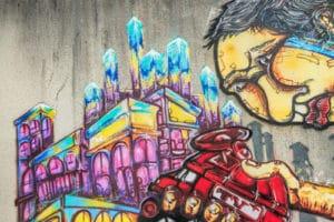 čím na graffiti