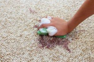 dezinfekční čištění koberců