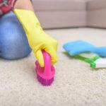 důkladné čištění koberců