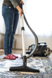 rýchlo, lacno vytepovať koberec