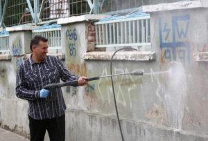 přetírání graffiti