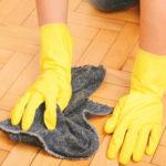 Dôkladné vyčistenie podláh