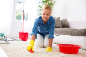 pravidelné čistenie kobercov
