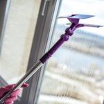 mytí oken bez šmouh