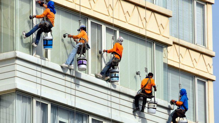 výškové umývanie okien firma