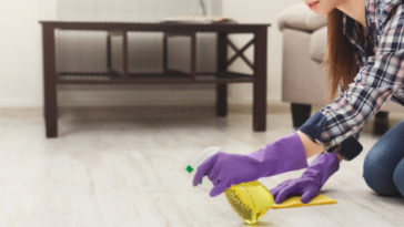 moderné čistenie podláh