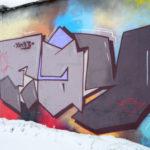 graffiti na fasádě