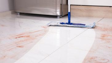 Průmyslové mytí podlah