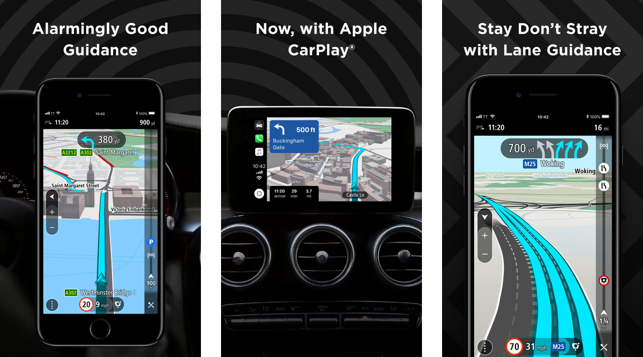 TomTom GO Navigation App Gets a Massive Update With Apple CarPlay