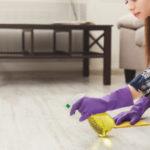 ceník pri čistení podlahy