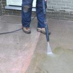 čistenie liatej podlahy