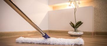 čištění linolea
