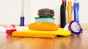podlahy čištění
