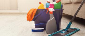 mytí dlažby