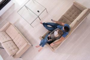 šetrné čištění podlah